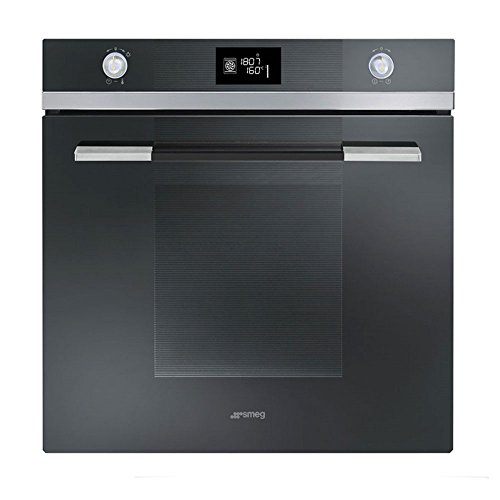 Smeg Linea SFP125NE Built In Oven Pyrolitic Multifunction 60cm Black
