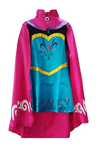 Elsa Coronation Dress Costume and Cape - Frozen Halloween Costumes