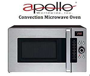 Apollo Ultra Speed Convection Microwave Oven 1.2 Cu. Ft., Countertop ...
