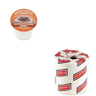 Kitbwk6180Gmt6722Ct - Value Kit - Green Mountain Coffee Roasters Chocolate Glazed Donut Coffee K-Cups (Gmt6722Ct) And White 2-Ply Toilet Tissue, 4.5Quot; X 3Quot; Sheet Size (Bwk6180)