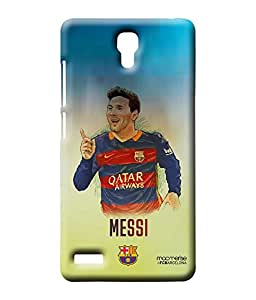 Illustrated Messi - Sublime Case for Xiaomi Redmi Note Prime
