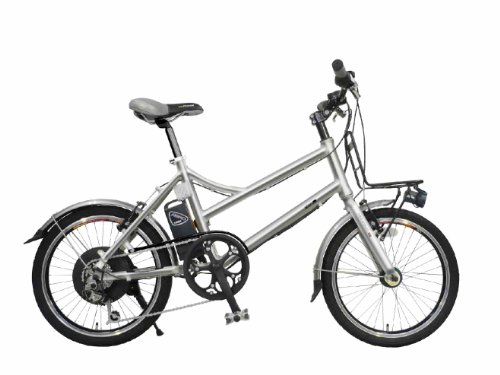 【Amazonの商品情報へ】aero assistant(エアロアシスタント) 電動自転車 207+N 20インチ アルミポリッシュ