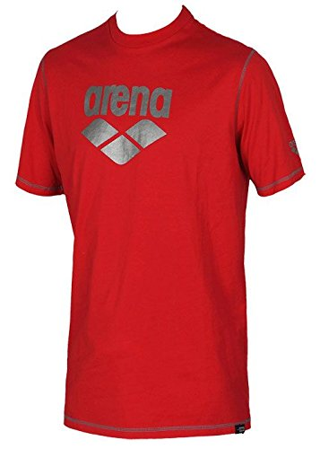 T-shirt Arena youth red maglia 6-7 anni