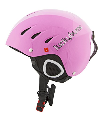 lucky-bums-neve-sport-helmet-metallic-55-56-cm-s-nero-unisex-snow-sport-pink-59-60-cm