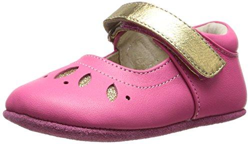 Toddler Girl's See Kai Run 'Jocelyne' Crib Shoe Hot Pink 18-
