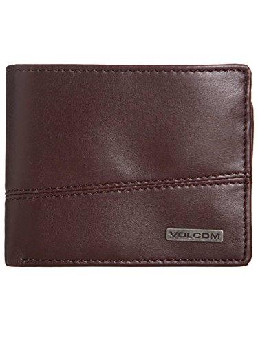 Volcom Split Stone-Portafoglio da uomo, colore: marrone, taglia S/O