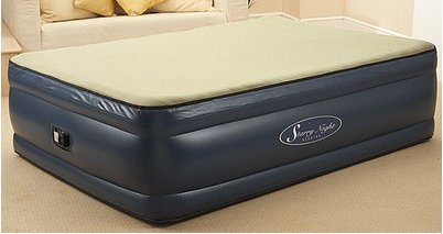 New Luxurious Double Sized Memory Foam Inflatable Bed in Less Than 3 minutes RRP £199.99