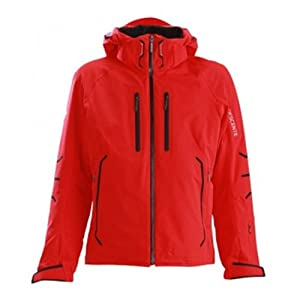 Buy Descente D4-8642 Mens Contender Jacket Electric Red Medium by Descente