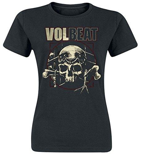 Volbeat Voodoo Skull Maglia donna nero XL