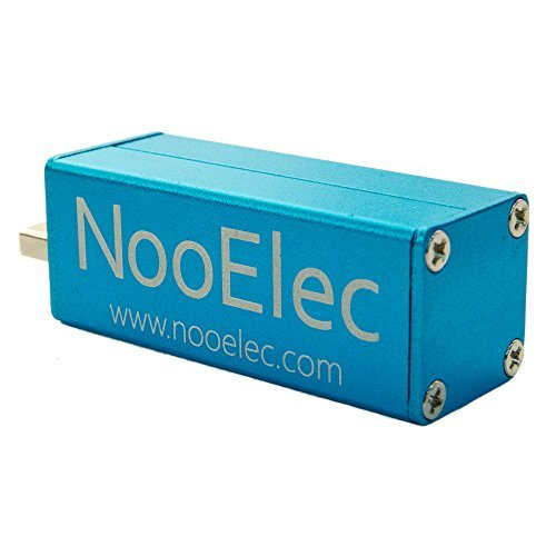 NooElec NESDR Mini+ Al: 0 5PPM TCXO RTL-SDR & ADS-B USB Receiver Set w/  Aluminum Enclosure & Antenna  RTL2832U & R820T Tuner  Low-Cost Software