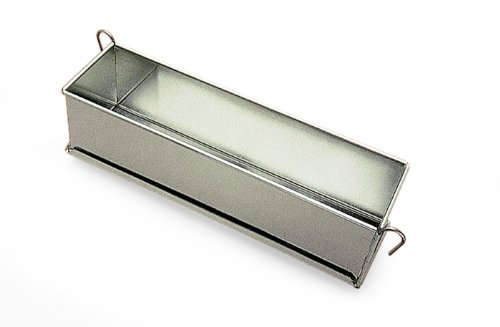 Pate Terrine Mold with hinges, Tinned Steel, 3