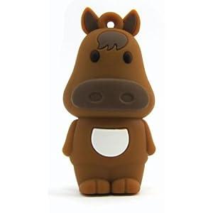 干支【午年】馬型 USBメモリ 4GB / UD-8974