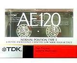 TDK 音楽用 カセットテープ 120分 新設計 高信頼性HPメカニズム AE-120K