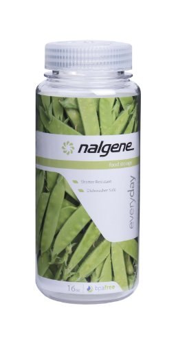 Nalgene Kitchen Storage Wide Mouth, 16-Ounce, Clear front-627858