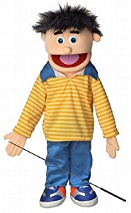 """25"""" Bobby (Peach) from Silly Puppets"""