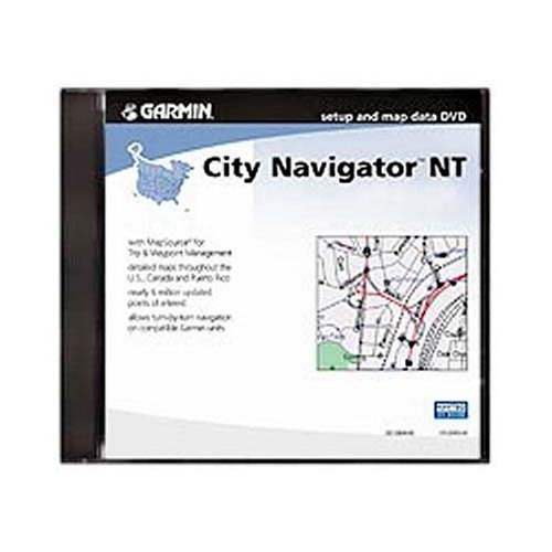 Garmin City Navigator North America for Detailed Maps of the United State, Canada and Mexico (DVD)