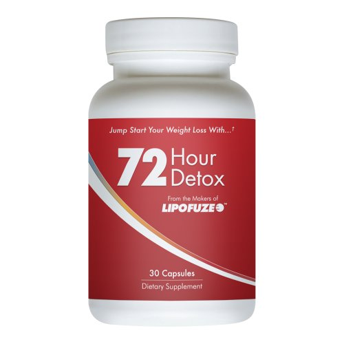 Lipofuze 72 - Best Diet Pill For Fast Detox - Boost Energy, Loose Weight And Burn Fat Fast - Cleanses Your Digestive System