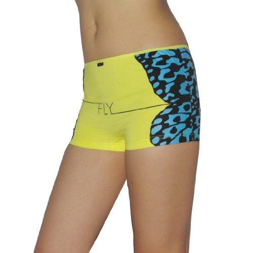 Womens Atlantic Comfortable Low Rise Underwear Boyshorts Hipster Panties / Knickers
