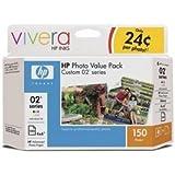 HP Custom 02S Photo Value Pac