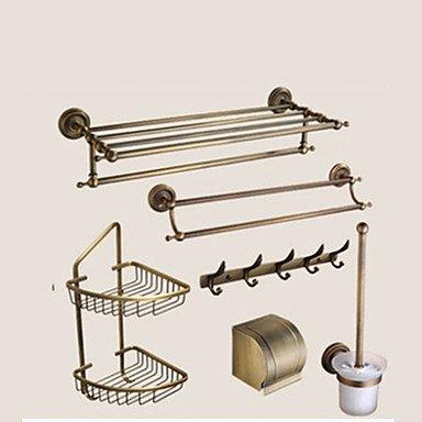 Set di accessori per il bagno / Ottone antico633*235 /Ottone /Neoclassico /63 140 4.5