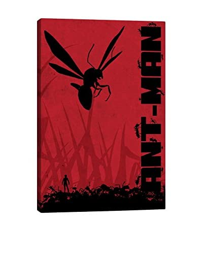 Ant-Man Poster Gallery-Wrapped Canvas Print