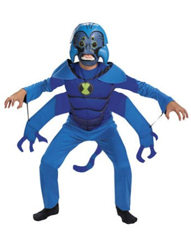 Spider Monkey Ben 10 Child 7-8 Kids Boys Costume