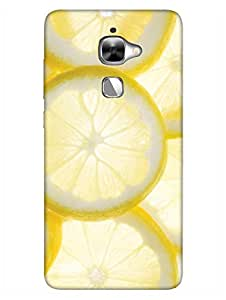 Lemon Wedges - Lemonade - Hard Back Case Cover for LeEco Le2 - Superior Matte Finish - HD Printed Cases and Covers