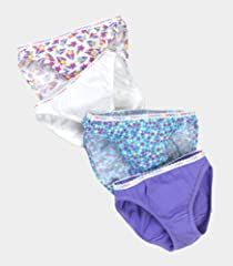 Fruit of the Loom Girls' 12pk Cotton Bikini