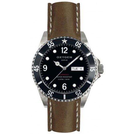 Oxygen EX-D-MOB-40-CL-BL - Reloj de pulsera unisex, color negro