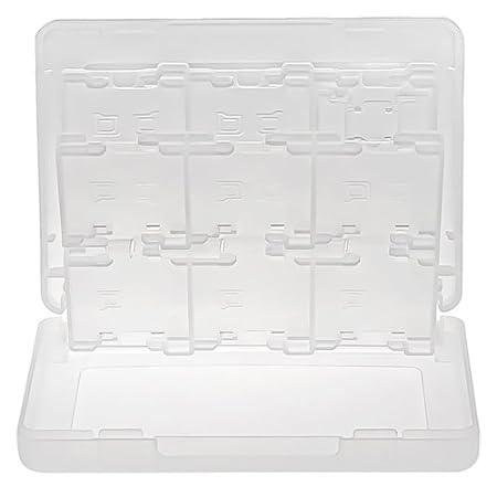 Game Card box Caja De Tarjetas De Juego 28 en 1 Para Nintendo 3DS, Blanca