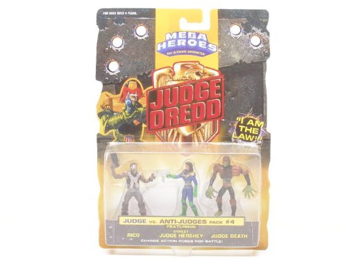 Buy Low Price Mattel Judge Dredd Mini Figures #4 (B000X4WIM6)