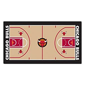 Buy FANMATS NBA Chicago Bulls Nylon Face NBA Court Runner-Large by Fanmats