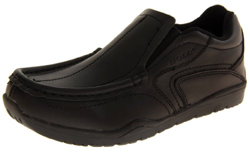 Footwear Studio, Punta chiusa bambino, Nero (slip On), 6 UK (Older Child)