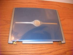 New X3160 4u973 Genuine OEM Dell Inspiron 1100 1150 5100 5150 5160 LCD Back Lid Top Cover Panel Blue 14.1