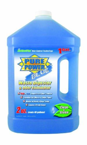 Valterra V23128 'Pure Power Blue' Waste Digester And Odor Eliminator - 128 Oz. Bottle