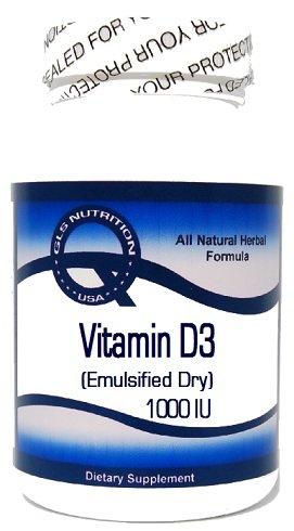 Vitamin D3 (Emulsified Dry) 1000 Iu 200 Capsules ^Gls