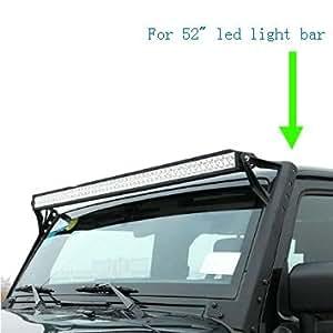 life bracket 52 led light bar roof mounting brackets for jeep. Black Bedroom Furniture Sets. Home Design Ideas