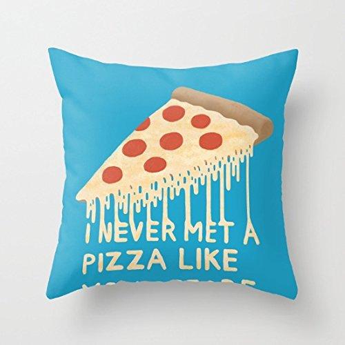 """Cuscino decorativo """"Sweet Pizza con cuscino 45,72 cm (18"""") (18 x 45,72 cm"""