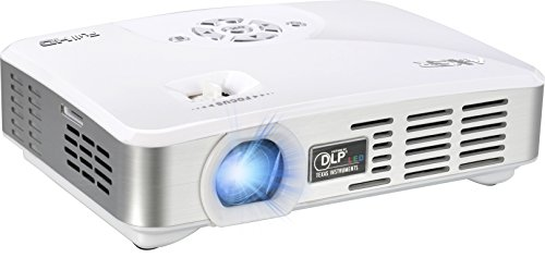 Fhd-6700A Portable Palm Hd Led Projector W/ Android, Wifi Bluetooth & 3D