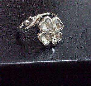 Shugo Chara white Adjustable Ring