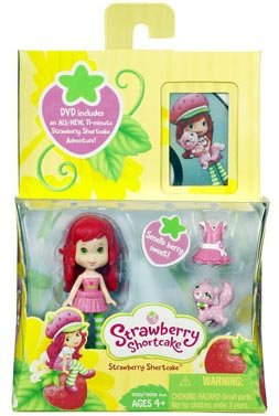 Strawberry Shortcake Hasbro Mini Doll With Dvd front-379249