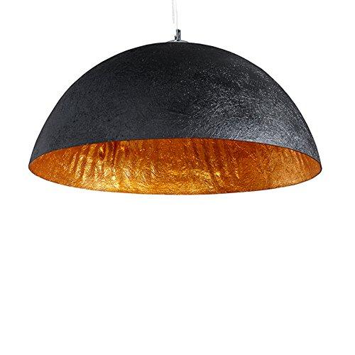 Stylische-Hngeleuchte-GLOW-schwarz-gold-50cm