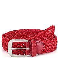 Oleva Red Ladies Belt OLB 23