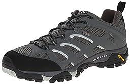 Merrell Men\'s Moab Waterproof Hiking Shoe, Sedona Sage, 11.5 M US
