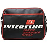 Gifts For Aviators Interflug DDR Airline Sports Bag In Black