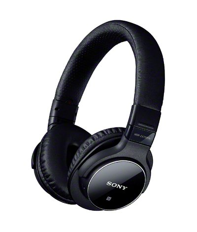 Sony Bluetooth-Equipped With Noise Canceling Dynamic Closed-Type Headphones Mdr-Zx750Bn-B Black