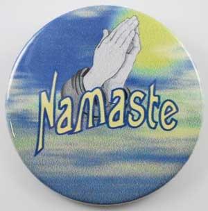 Namaste pin