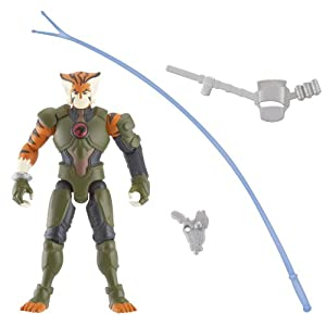Thundercats Action Figure on Amazon Com  Thundercats Tygra 4  Action Figure  Toys   Games