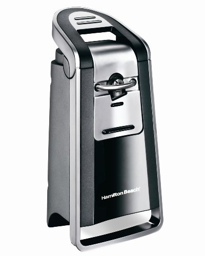 Hamilton Beach 76607 Smooth Touch Can Opener, Black and Chrome (Stainless Steel With Smooth Edge compare prices)