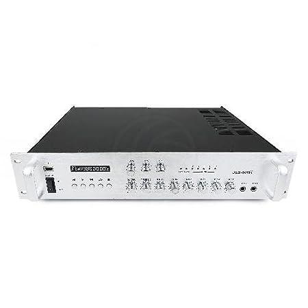 Cablematic - Amplification du son professionnel 80W 110V 3 zones avec MP3 AUX MIC rack